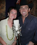 Jane Milburn and Lee Kernaghan